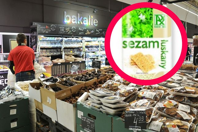 Salmonella w sezamie. Główny Inspektorat Sanitarny ostrzega przed produktem