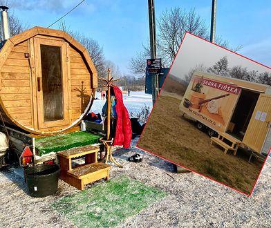 Mobilne sauny podbiły serca morsów. Ile można zarobić na biznesie na kółkach?