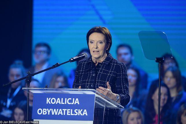 Ewa Kopacz może wystartować do Parlamentu Europejskiego