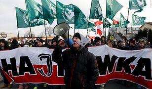 Marsz środowisk narodowych w Hajnówce