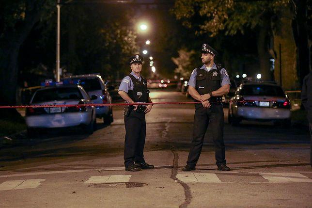 Policja poinformowała, że napastnik wciąż jest na wolności