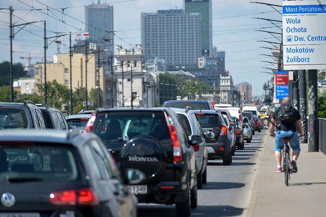 Tragedia w stolicy, na moście zginęła rowerzystka