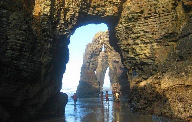 Plaża Katedr w Galicji