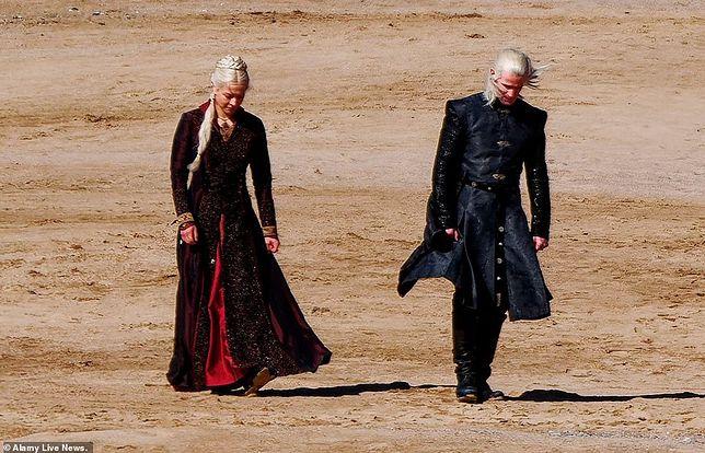Matt Smith w roli Daemona Targaryena.