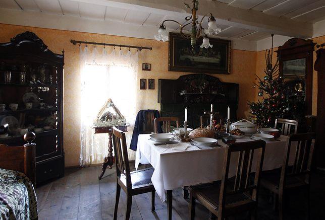 Wigilijny stół gospodyń z Twardowic