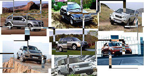 Miejskie terenówki - TOP 10 SUV'ów