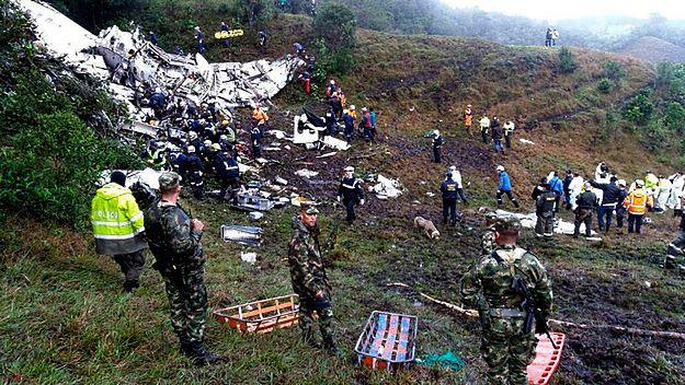 Znaleziono czarne skrzynki samolotu, który rozbił się w Kolumbii