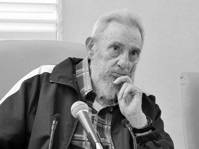 Fidel Castro w 2013 roku