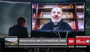 """Ks. Isakowicz -Zaleski komentuje wywiad kardynała Dziwisza. """"Wybrał sobie prowadzącego"""""""