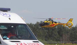 Kraków. Dwuletnie bliźniaczki wypadły z piątego piętra