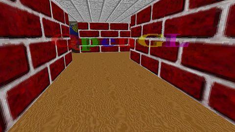 Screensaver Subterfuge na weekend, czyli labirynt z Windowsa 95