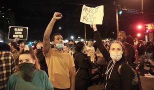 USA. Na ulice wielu miast wyszli protestujący domagający się sprawiedliwości po zabójstwie Georga Floyda