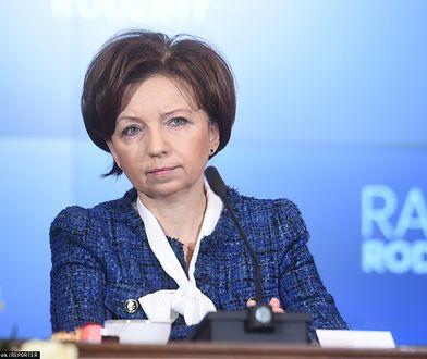 Marlena Maląg szefowa MRPiPS.
