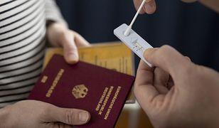 Paszporty covidowe. Nowe informacje