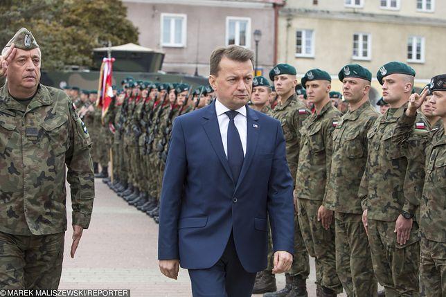 Szef MON Mariusz Błaszczak.