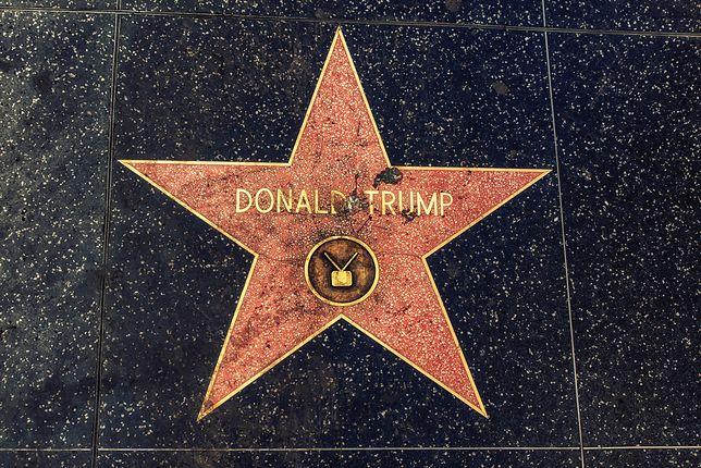 Gwiazda Donalda Trumpa zniknie z Alei Sław w Hollywood