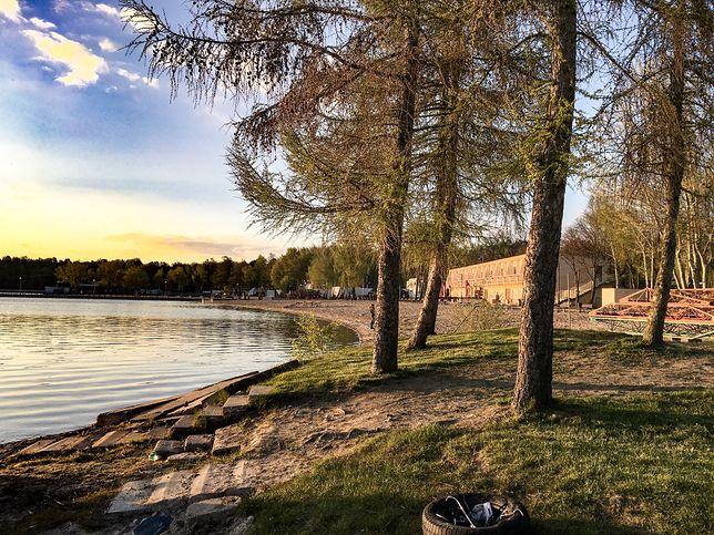 Jezioro Niedzięgiel w Skorzęcinie