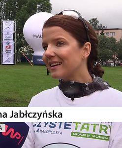 """""""Czekałam na to zaproszenie"""". Joanna Jabłczyńska o akcji """"Czyste Tatry"""""""
