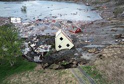 Norwegia: do morza runęło 8 domów. Nagranie trafiło do sieci