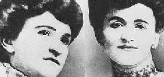 Całe życie słynnych sióstr Everleigh było iluzją. Nawet nazwisko zmyśliły. Niezaprzeczalny pozostaje jednak jeden fakt: na założonym przez siebie lupanarze zbiły majątek! Na zdjęciu Ada (po lewej) i Minna (po prawej) Everleigh