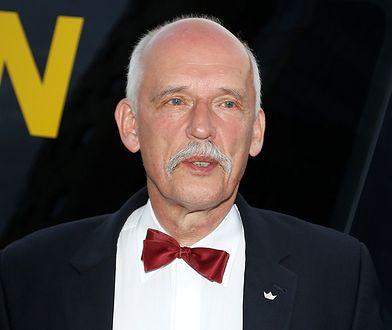 Janusz Korwin-Mikke wybrał się do teatru. Polityk pokazał, jak teraz wygląda widownia