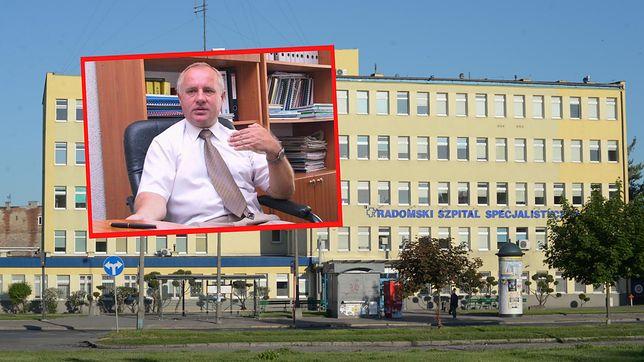 Pełnomocnik ministra zdrowia pracuje bez umowy. Poseł KO interweniuje w Radomskim Szpitalu Specjalistycznym
