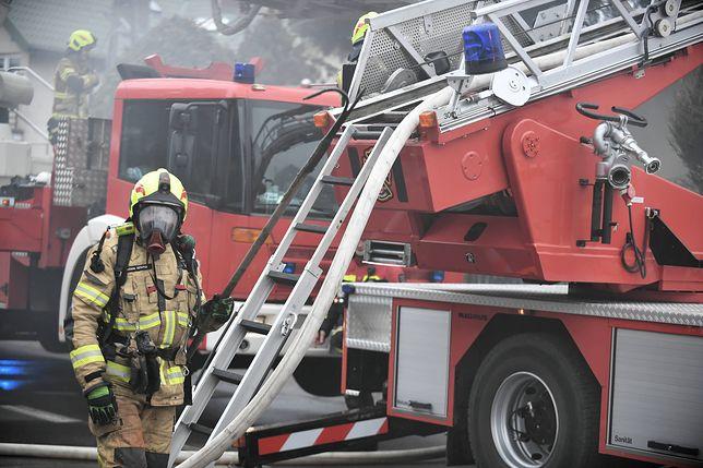 Pożar wybuchł we wtorek nad ranem w Łodzi/ Zdjęcie ilustracyjne