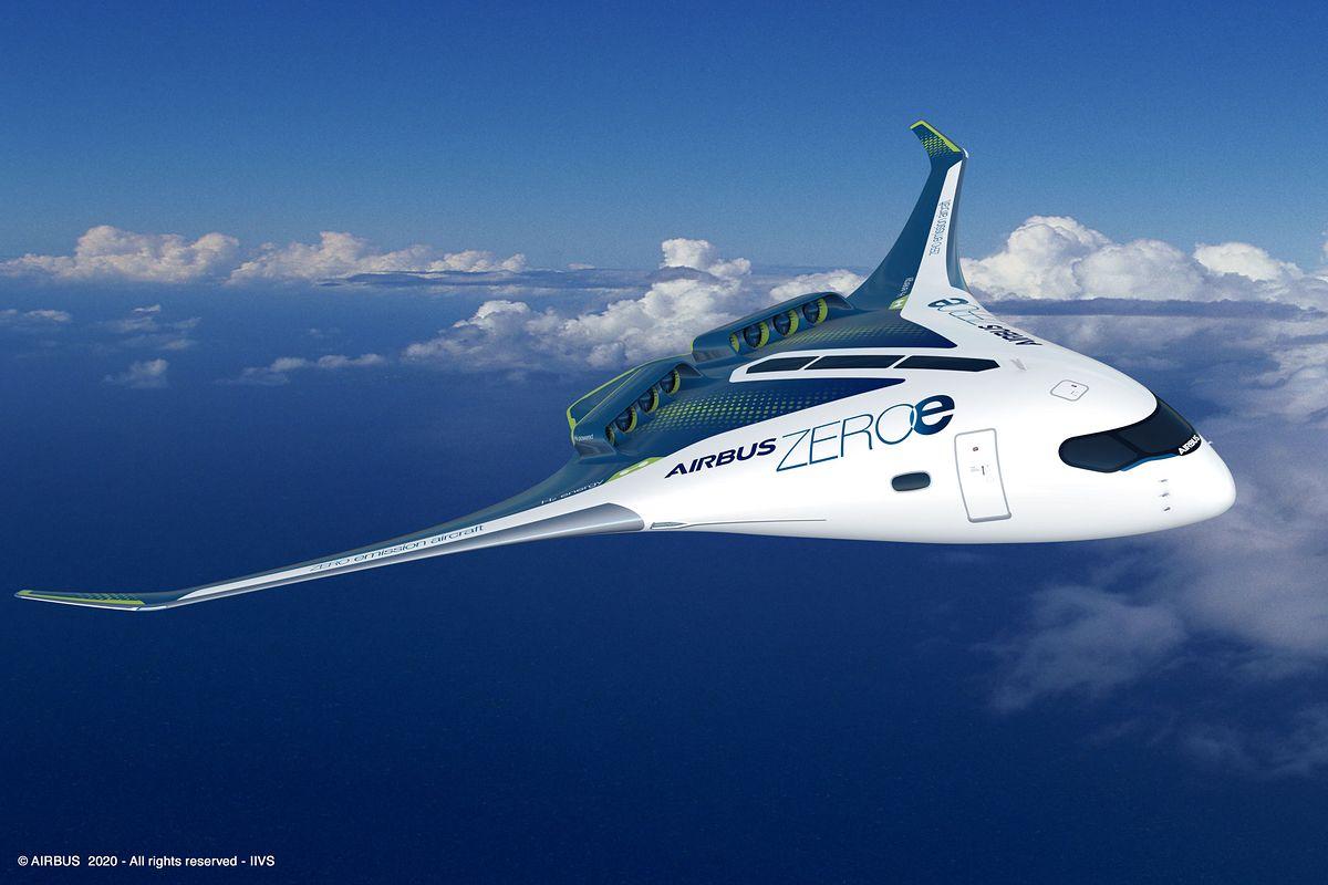 Airbus przedstawił trzy warianty nowego samolotu.