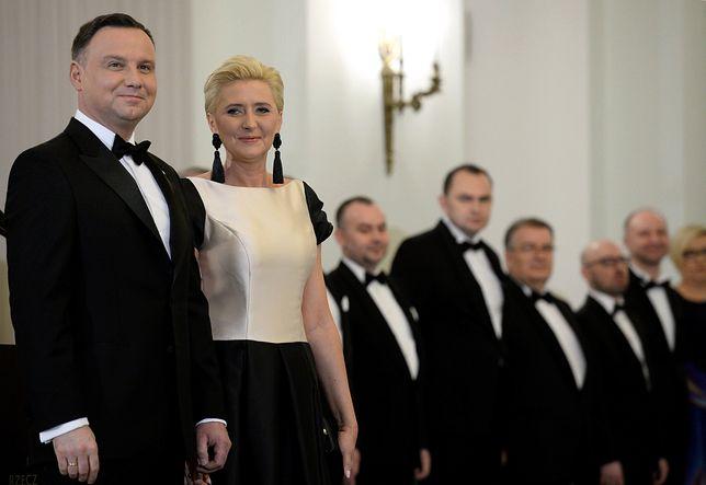 Para prezydencka przywitała członków Korpusu Dyplomatycznego