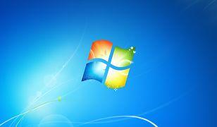Oficjalna tapeta Windowsa 7. Wraz z jego końcem pewna era w kompuerach przemija