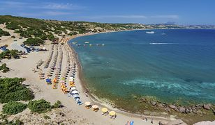 Plaże na Kos są przepiękne