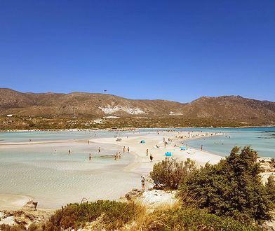 Elafonisi to maleńka wyspa na południowo-zachodnim krańcu Krety,