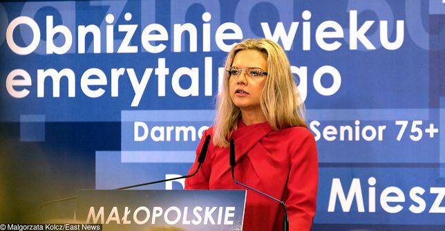 Małgorzata Wasserman otrzymała 31.88 proc. głosów