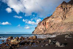 Wyspy Kanaryjskie. Na La Gomerze osunął się ogromny skalny klif