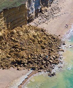 Wielka Brytania. Zawalił się 300-metrowy odcinek klifu w Dorset