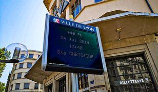 W Lyonie we Francji temperatury przekraczają nawet 40 st. C