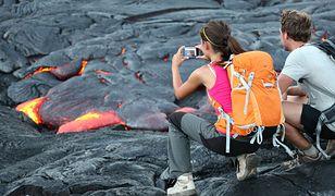 32-letni turysta wpadł do wulkanu