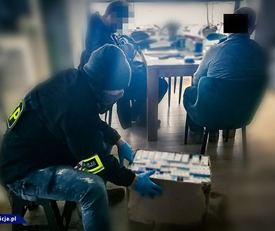 Międzynarodowa akcja policji. Rozbito gang fałszerzy leków