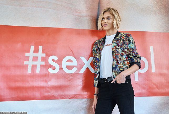 Anja Rubik jest jedną z propagatorek edukacji seksualnej w Polsce