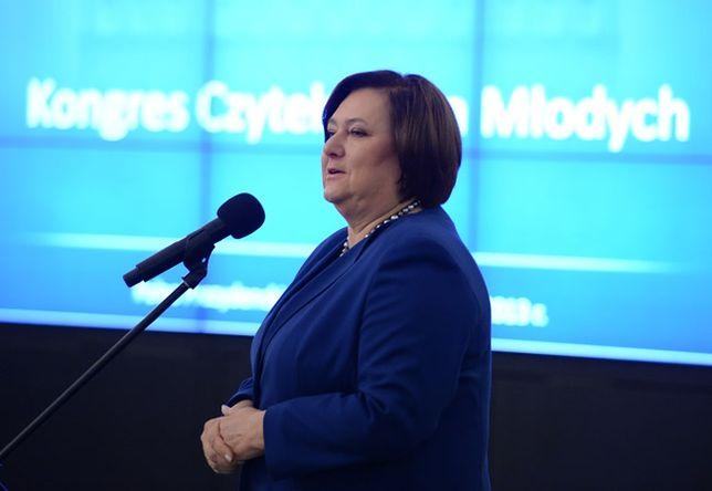 Anna Komorowska: staram się popularyzować czytelnictwo w Polsce