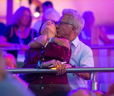 Dustin Hoffman z żoną
