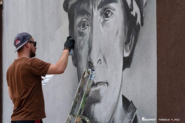 Śląskie. W Siemianowicach Śląskich, rodzinnym mieście Wojciecha Korfantego, powstaje wyjątkowy mural w hołdzie powstańcom śląskim.