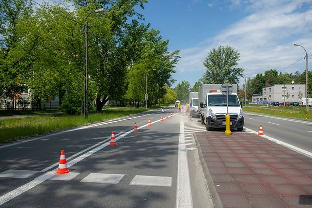 Warszawa. ZDM przebuduje niebezpieczne przejście dla pieszych na Bemowie