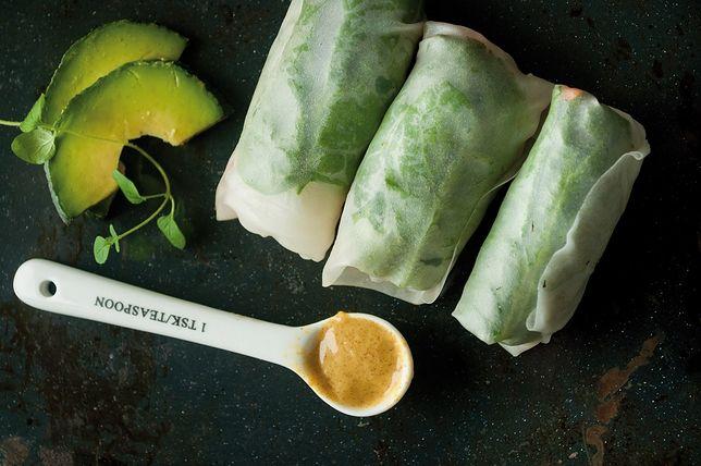 Spring rolls to świetny sposób na szybką przekąskę