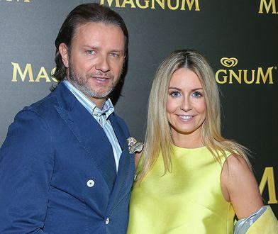 Małgorzata Rozenek i Radosław Majdan - stylowa para na imprezie Magnum