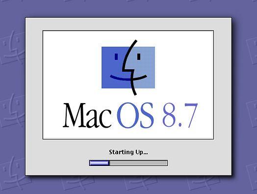 iBook na przełomie wieków — część 1  - Mac OS 8.7 Sarah czyli wersja rozwojowa Mac 8.6 która finalnie stała się dziewiątką.