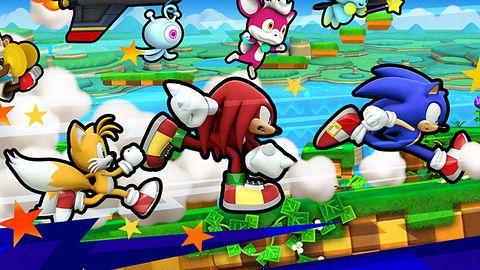 Niebieski jeż wraca do korzeni, pędzi do przodu w darmowym Sonic Runners