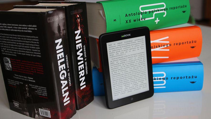 inkBOOK Obsidian 4 GB. Czytnik e-booków w wakacyjnej cenie #prasówka