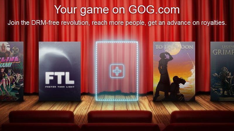 GOG.com otwiera się na niezależnych twórców gier
