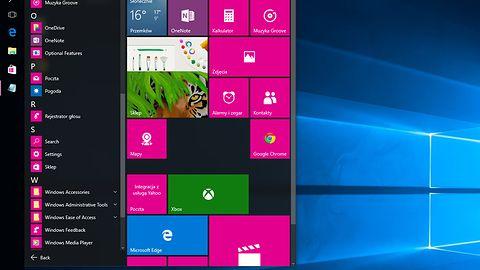 """""""Naprawione"""" Menu Start w Windows 10 pozwoli na użycie 2048 skrótów"""
